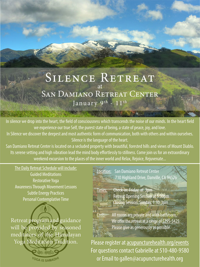 silence-retreat